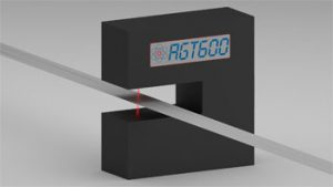 compact line thickness laser gauge