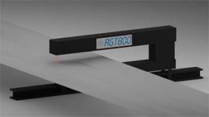 laser thickness gauge